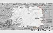 Gray Panoramic Map of Beira Interior Norte