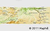 Physical Panoramic Map of Pinhel