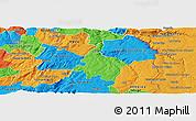 Political Panoramic Map of Pinhel