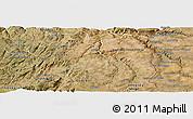 Satellite Panoramic Map of Pinhel