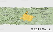 Savanna Style Panoramic Map of Pinhel