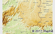 Physical Map of Sabugal