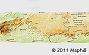 Physical Panoramic Map of Sabugal