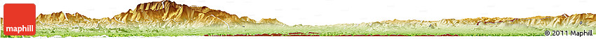 Physical Horizon Map of Beira Interior Sul