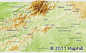 Physical 3D Map of Fundao