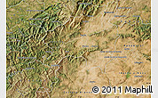 Satellite Map of Fundao