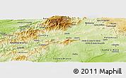 Physical Panoramic Map of Fundao
