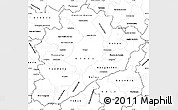Blank Simple Map of Dâo-Lafôes