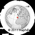 Outline Map of Pampilhosa Da Serra