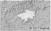 Gray 3D Map of Oleiros