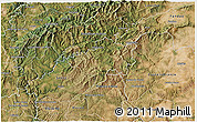 Satellite 3D Map of Oleiros