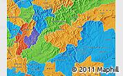 Political Map of Oleiros