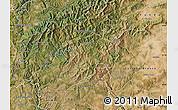 Satellite Map of Oleiros