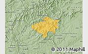 Savanna Style Map of Oleiros