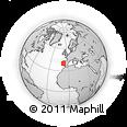 Outline Map of Oleiros