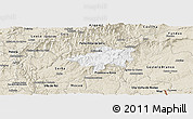 Classic Style Panoramic Map of Oleiros