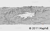 Gray Panoramic Map of Oleiros