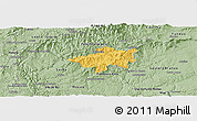 Savanna Style Panoramic Map of Oleiros