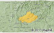 Savanna Style 3D Map of Serta