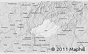 Silver Style 3D Map of Serta