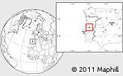 Blank Location Map of Serta