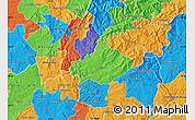 Political Map of Serta