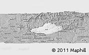 Gray Panoramic Map of Serta