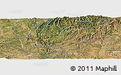 Satellite Panoramic Map of Serta