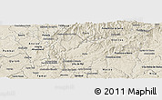 Shaded Relief Panoramic Map of Serta