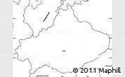 Blank Simple Map of Serta