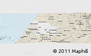 Classic Style Panoramic Map of Leiria