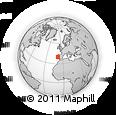 Outline Map of Pinhal Litoral