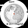 Outline Map of Nazaré