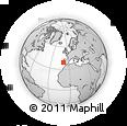 Outline Map of Torres Vedras