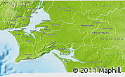 Physical 3D Map of Palmela