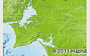 Physical Map of Palmela