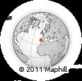 Outline Map of Palmela