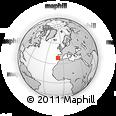 Outline Map of Setúbal