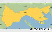 Savanna Style Simple Map of Setúbal