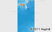 Political Shades 3D Map of Madeira