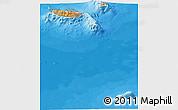 Political Shades Panoramic Map of Madeira