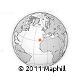 Outline Map of Madeira