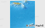Physical Panoramic Map of Madeira