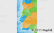 Political Map of Portugal