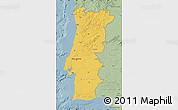 Savanna Style Map of Portugal
