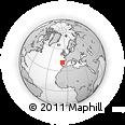 Outline Map of Mirandela