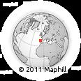 Outline Map of Valpaços