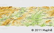 Physical Panoramic Map of Valpaços