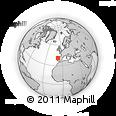 Outline Map of Armamar