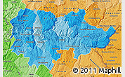 Political Shades Map of Douro
